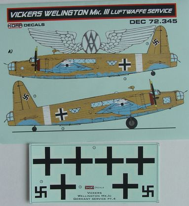 Vickers Wellington Mk.III Luftwaffe